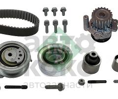 Комплект ГРМ с помпой INA 530 0550 32 VW Tiguan Passat Golf Skoda Superb Yeti