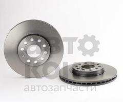 Тормозной диск передний Brembo BM 09.9145.11 VW Caddy Golf Skoda Octavia Superb