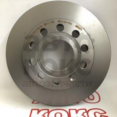 Тормозной диск задний Brembo BM 08.9502.11 VW Golf Caddy Skoda Octavia Yeti